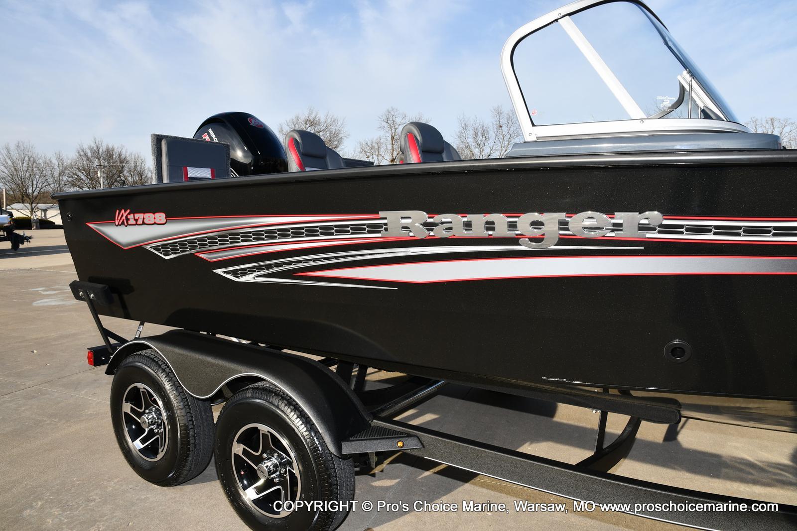 2021 Ranger Boats boat for sale, model of the boat is VX1788 WT w/150HP Pro-XS 4 Stroke & Image # 42 of 50