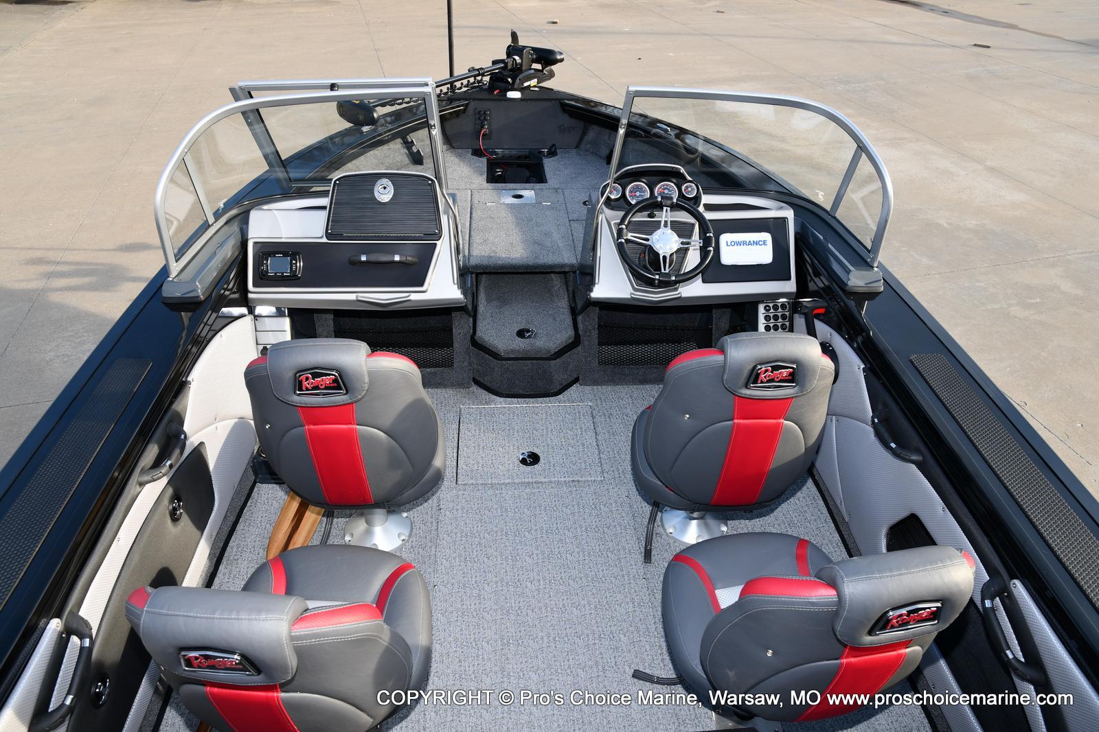 2021 Ranger Boats boat for sale, model of the boat is VX1788 WT w/150HP Pro-XS 4 Stroke & Image # 31 of 50