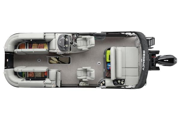 2022 Regency boat for sale, model of the boat is 230 LE3 Sport & Image # 25 of 76