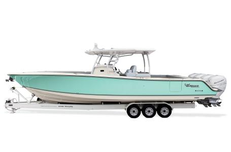 2021 Mako boat for sale, model of the boat is 414 CC & Image # 29 of 31