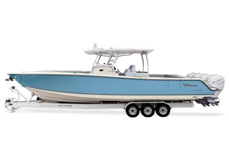 2021 Mako boat for sale, model of the boat is 414 CC & Image # 25 of 31