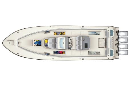 2021 Mako boat for sale, model of the boat is 414 CC & Image # 9 of 31