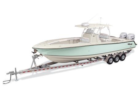 2021 Mako boat for sale, model of the boat is 334CC & Image # 1 of 32