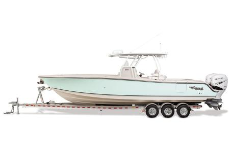 2021 Mako boat for sale, model of the boat is 334CC & Image # 22 of 32
