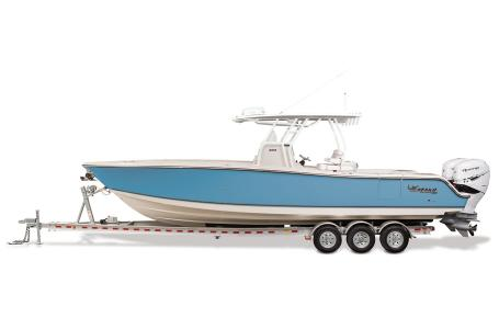 2021 Mako boat for sale, model of the boat is 334CC & Image # 3 of 32