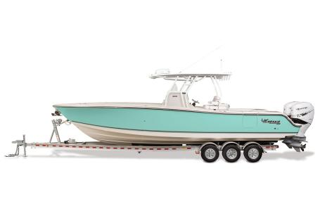 2021 Mako boat for sale, model of the boat is 334CC & Image # 4 of 32