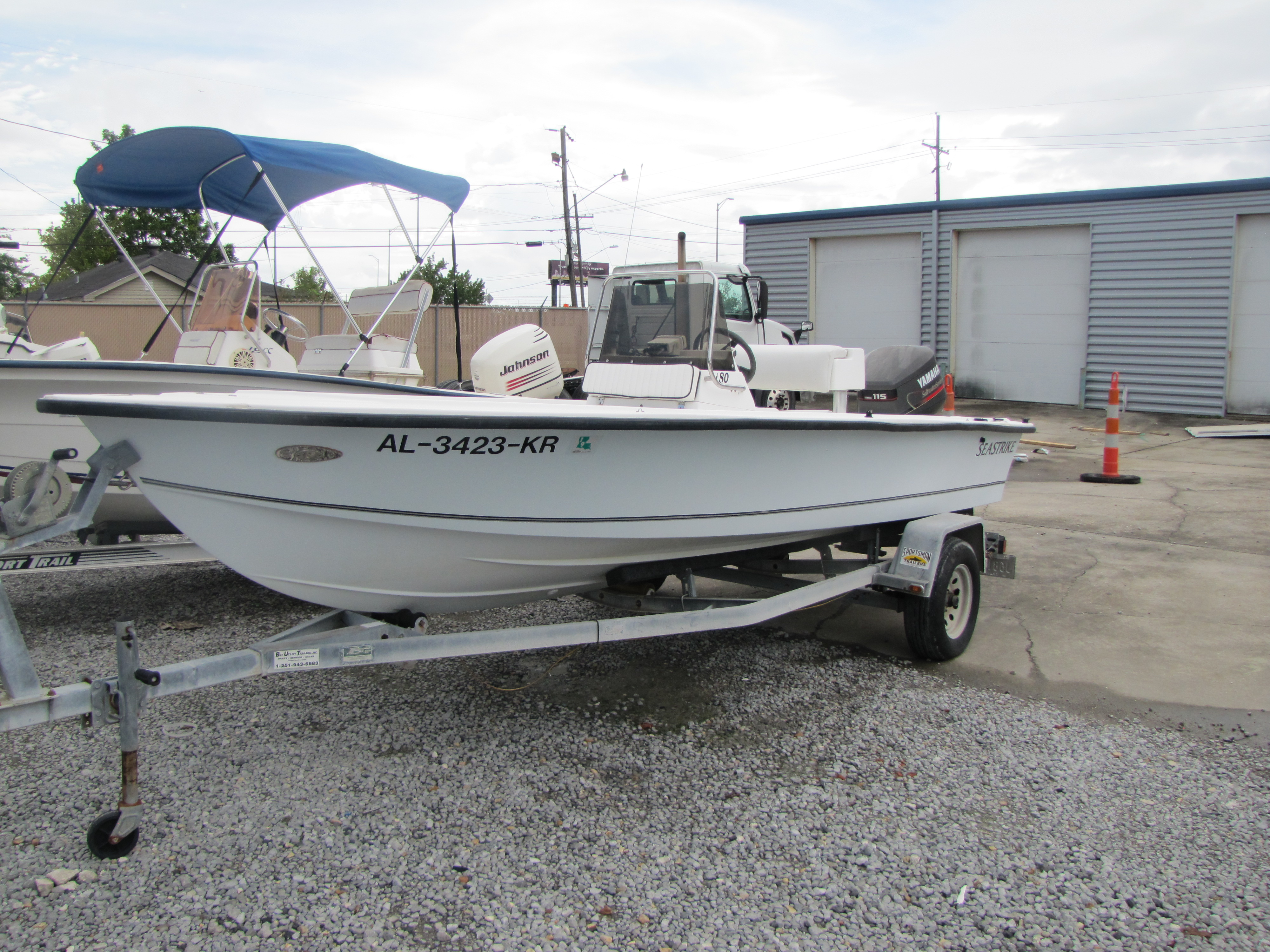 2001 Seastrike boat for sale, model of the boat is 180CC & Image # 1 of 7