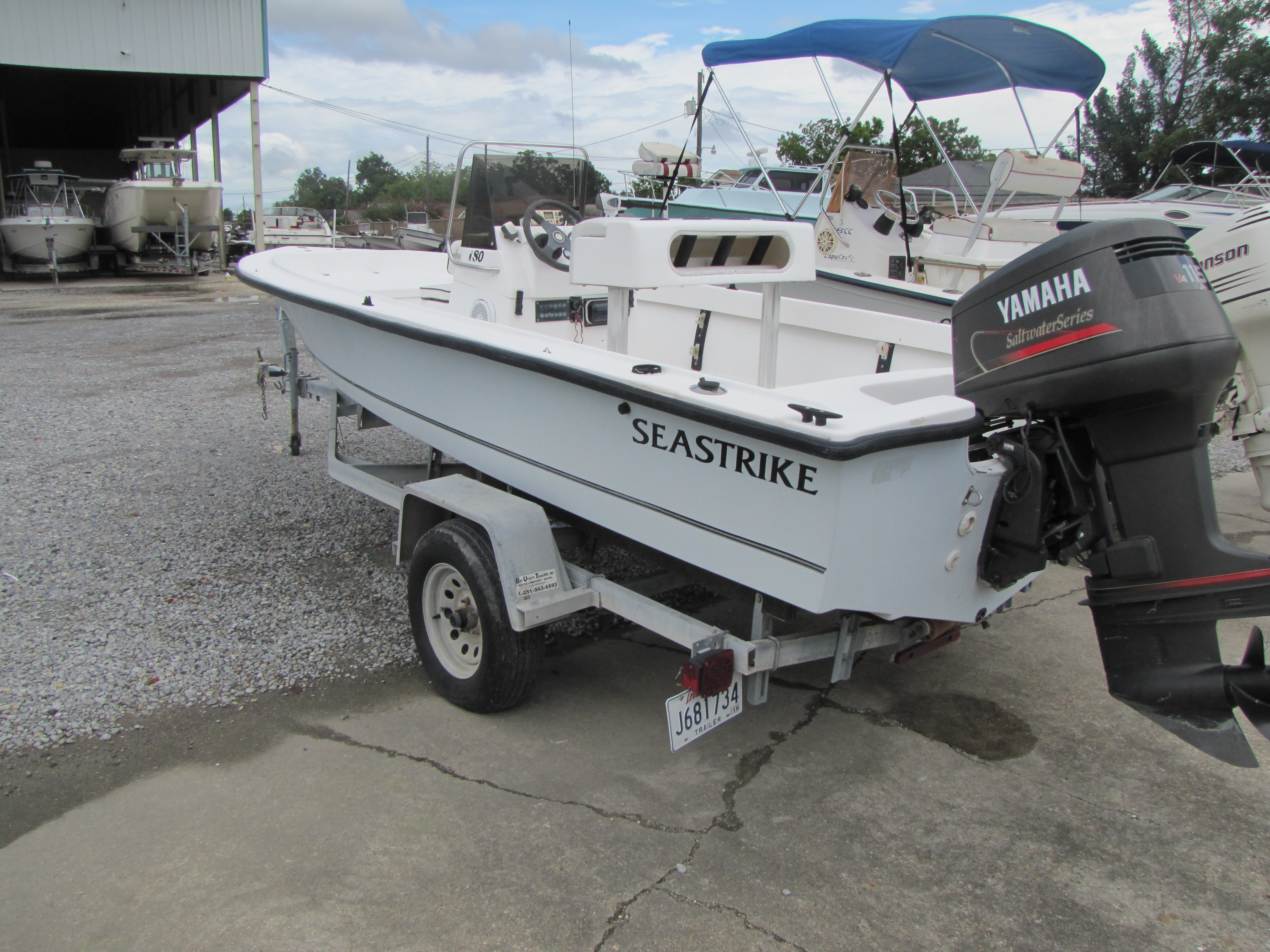 2001 Seastrike boat for sale, model of the boat is 180CC & Image # 3 of 7