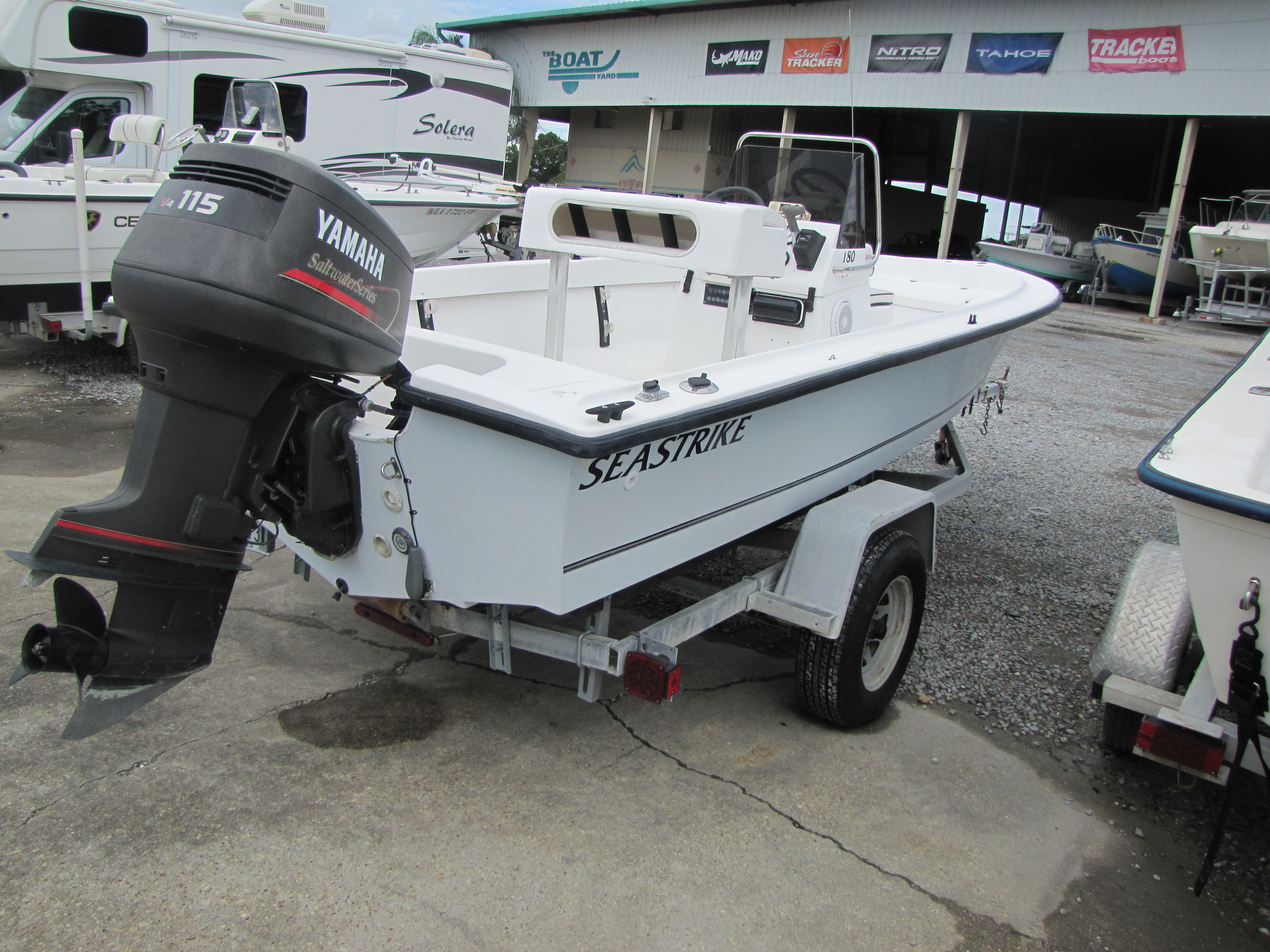 2001 Seastrike boat for sale, model of the boat is 180CC & Image # 4 of 7