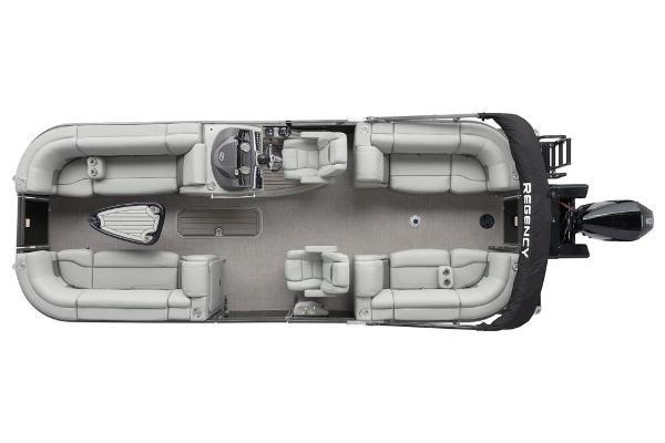 2021 Regency boat for sale, model of the boat is 230 LE3 & Image # 16 of 69