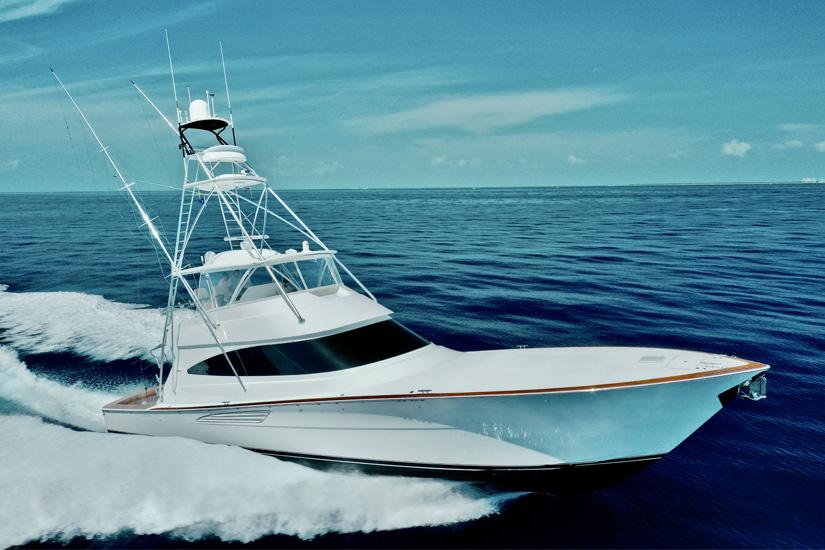 2019 Viking 68 Convertible Frigate- Profile