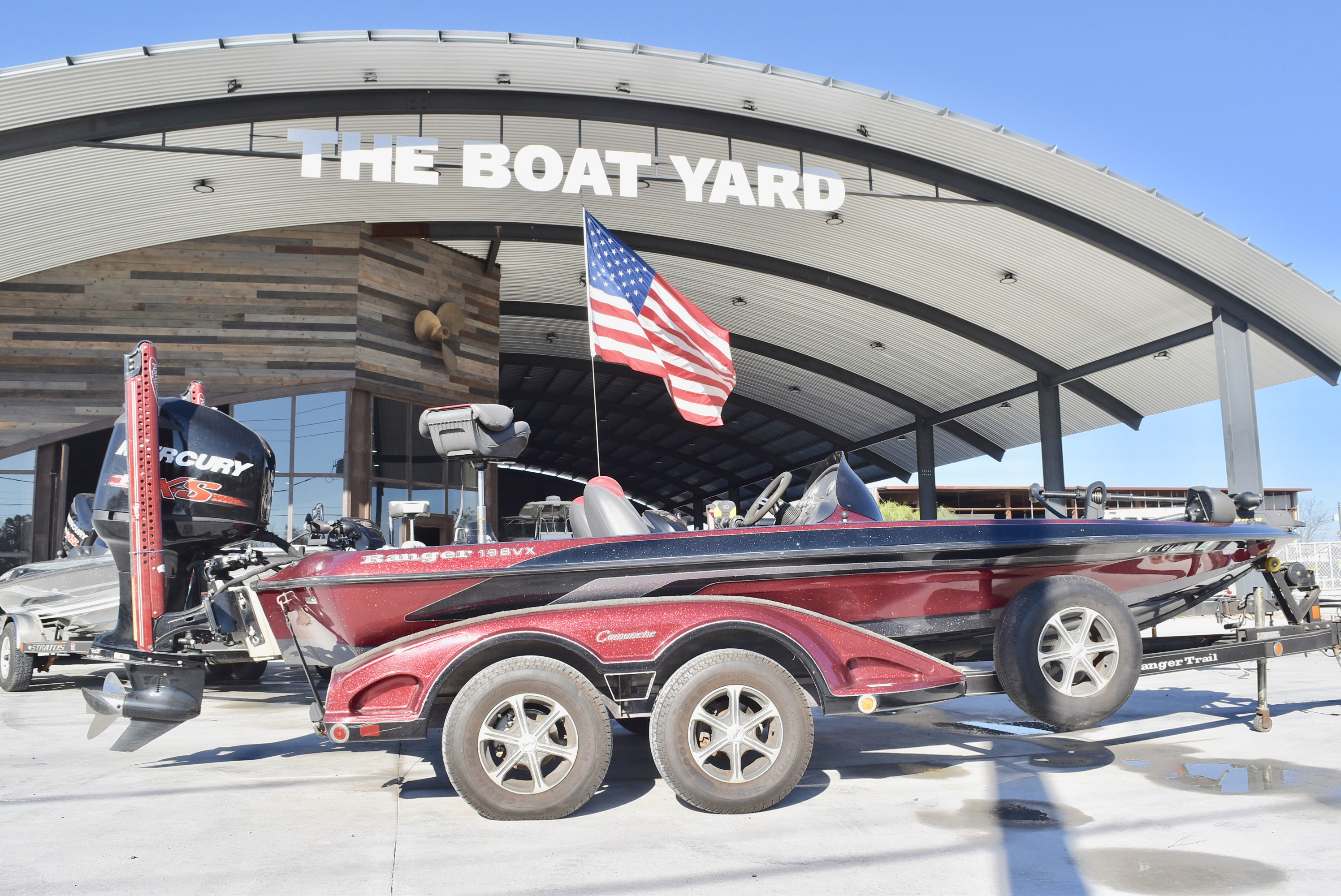 2010 Ranger Boats boat for sale, model of the boat is 198 VX & Image # 1 of 15