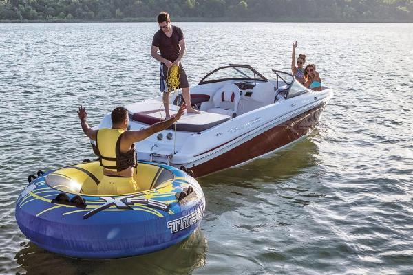 2018 Tahoe boat for sale, model of the boat is 500 TS & Image # 18 of 47