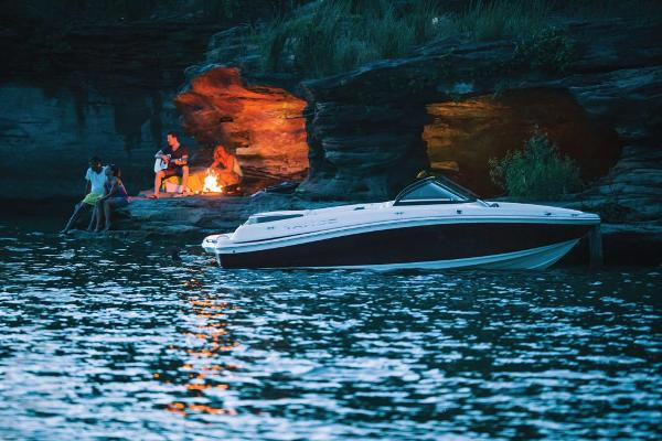 2018 Tahoe boat for sale, model of the boat is 500 TS & Image # 19 of 47