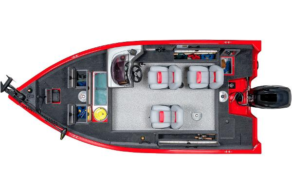 2014 Tracker Boats boat for sale, model of the boat is Pro Guide V-16 SC & Image # 17 of 17