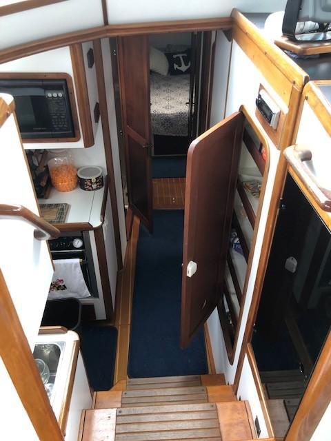 Looking toward Forward Cabin