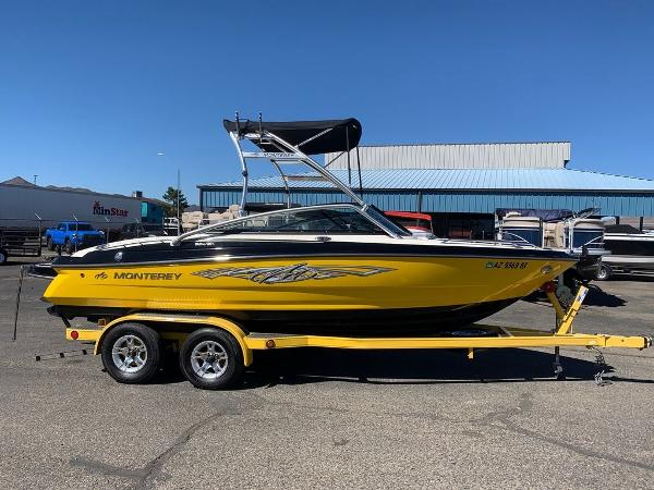 2012 Monterey boat for sale, model of the boat is 204 FSX & Image # 1 of 55
