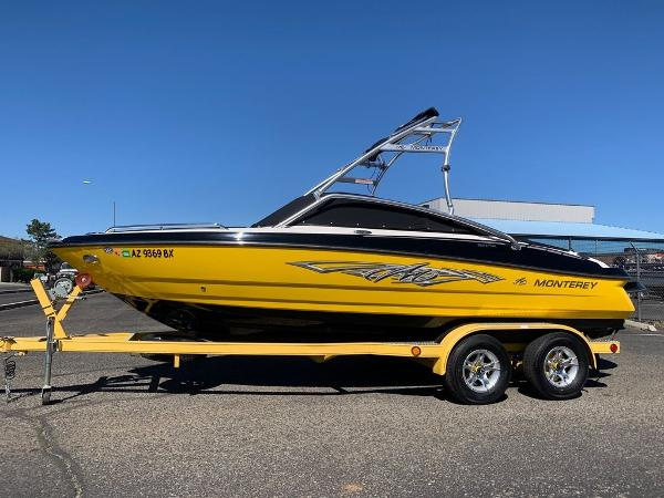 2012 Monterey boat for sale, model of the boat is 204 FSX & Image # 12 of 55