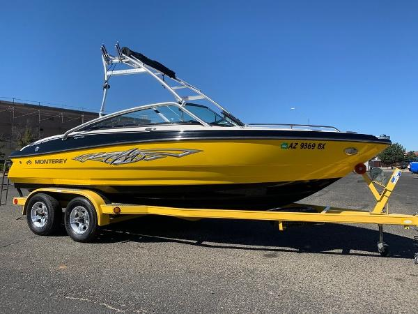 2012 Monterey boat for sale, model of the boat is 204 FSX & Image # 22 of 55