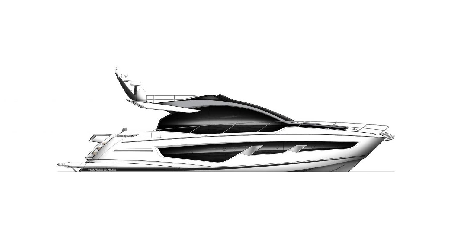 2021 Sunseeker 65 Sport Yacht #SS420 inventory image at Sun Country Yachts in Newport Beach