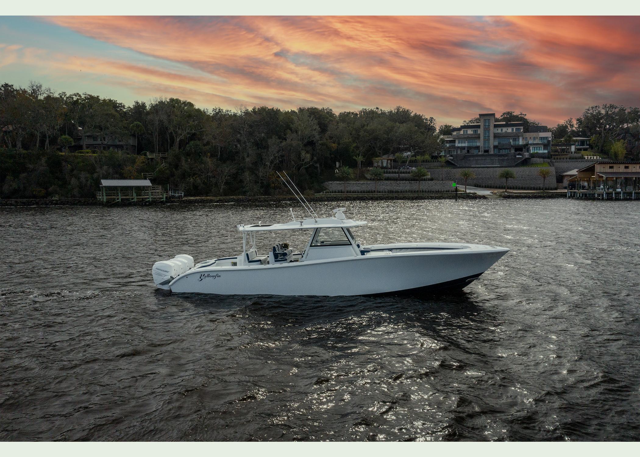 2020 42 Yellowfin Offshore - Profile