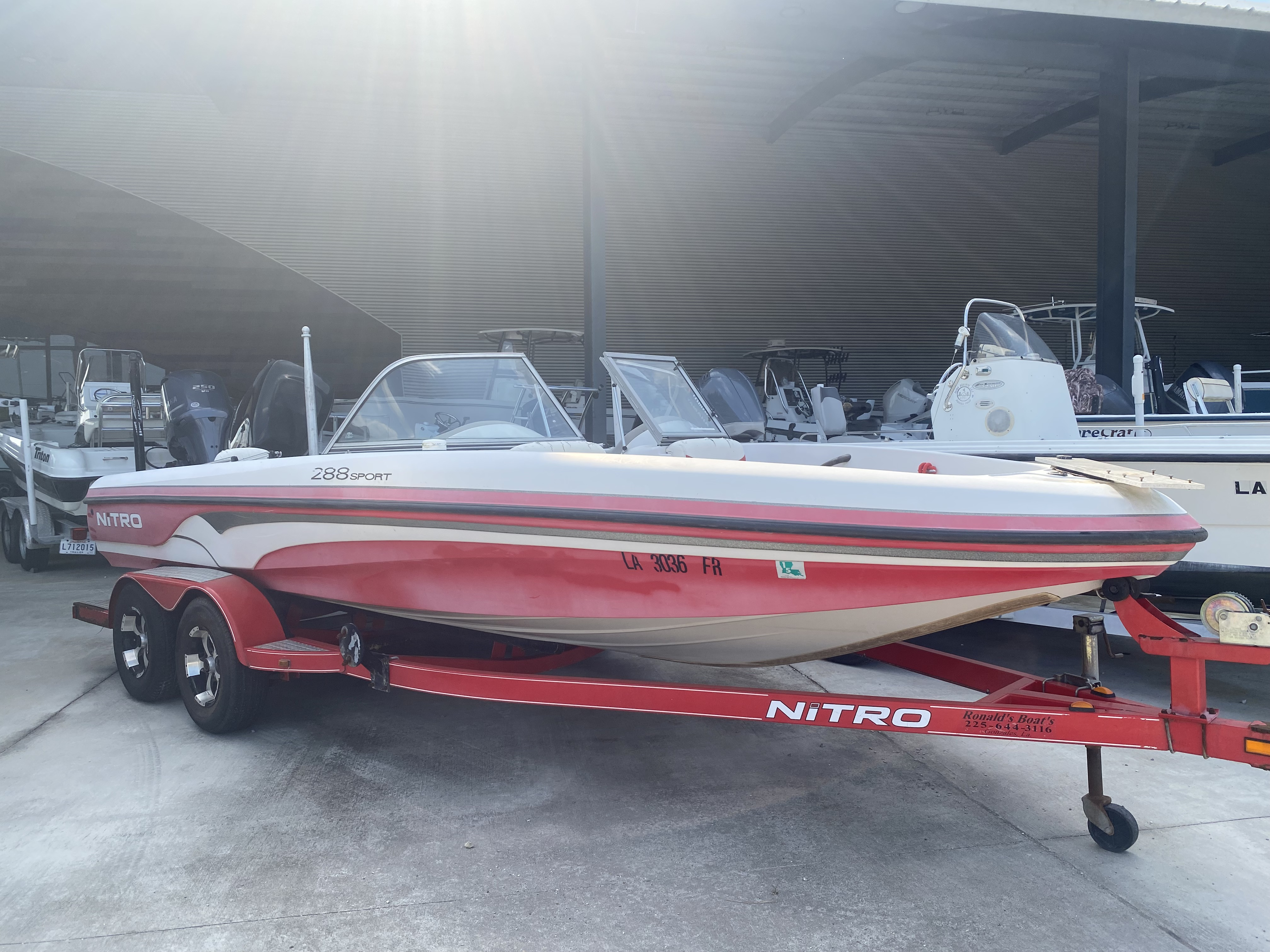 2007 NITRO 288 SPORT for sale