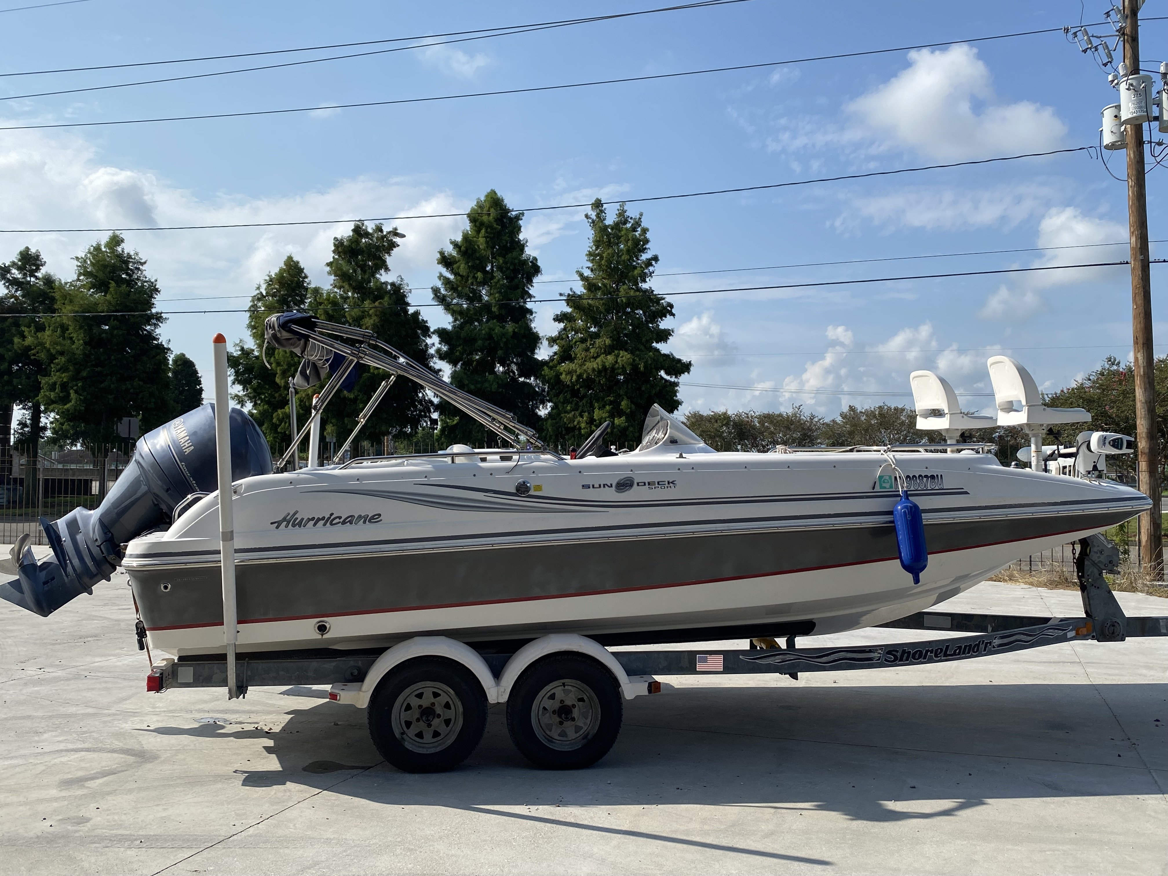 2012 Hurricane boat for sale, model of the boat is 201 Sport & Image # 10 of 11