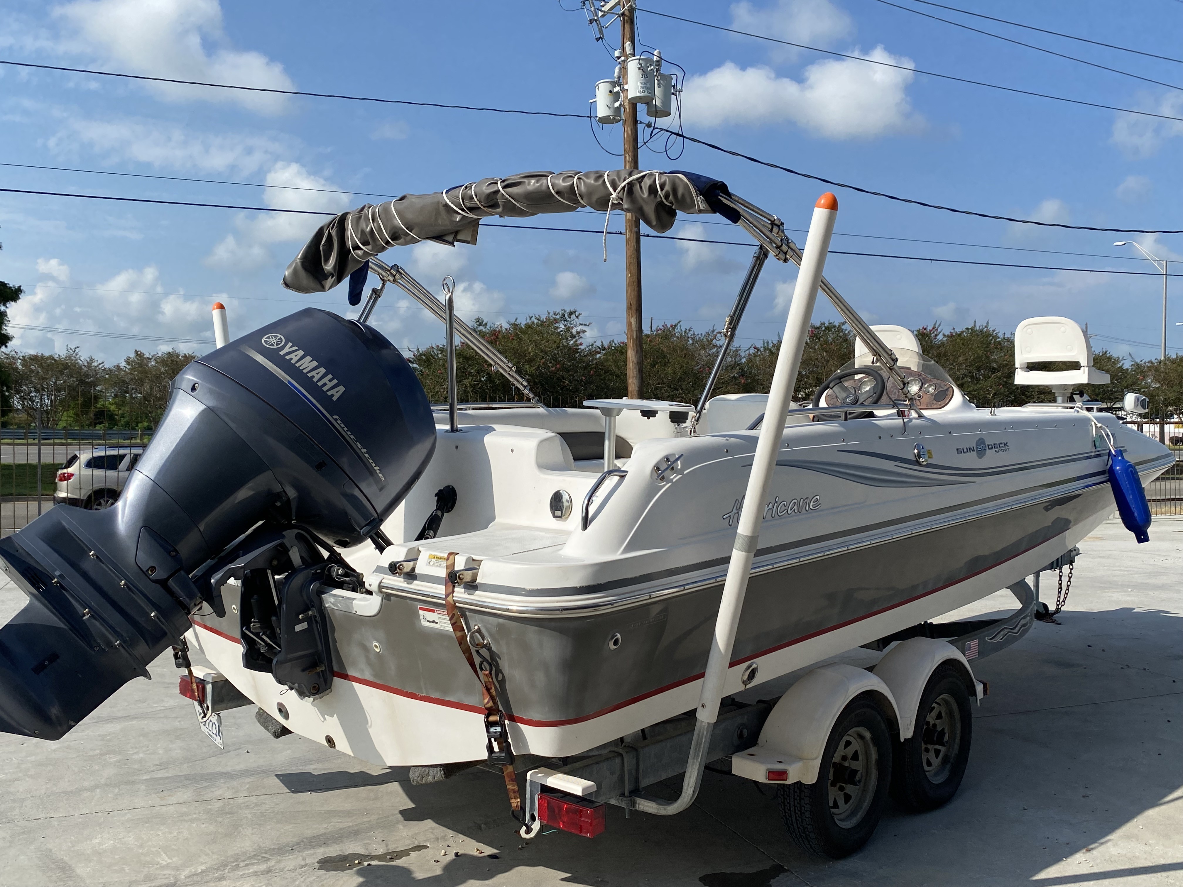 2012 Hurricane boat for sale, model of the boat is 201 Sport & Image # 8 of 11