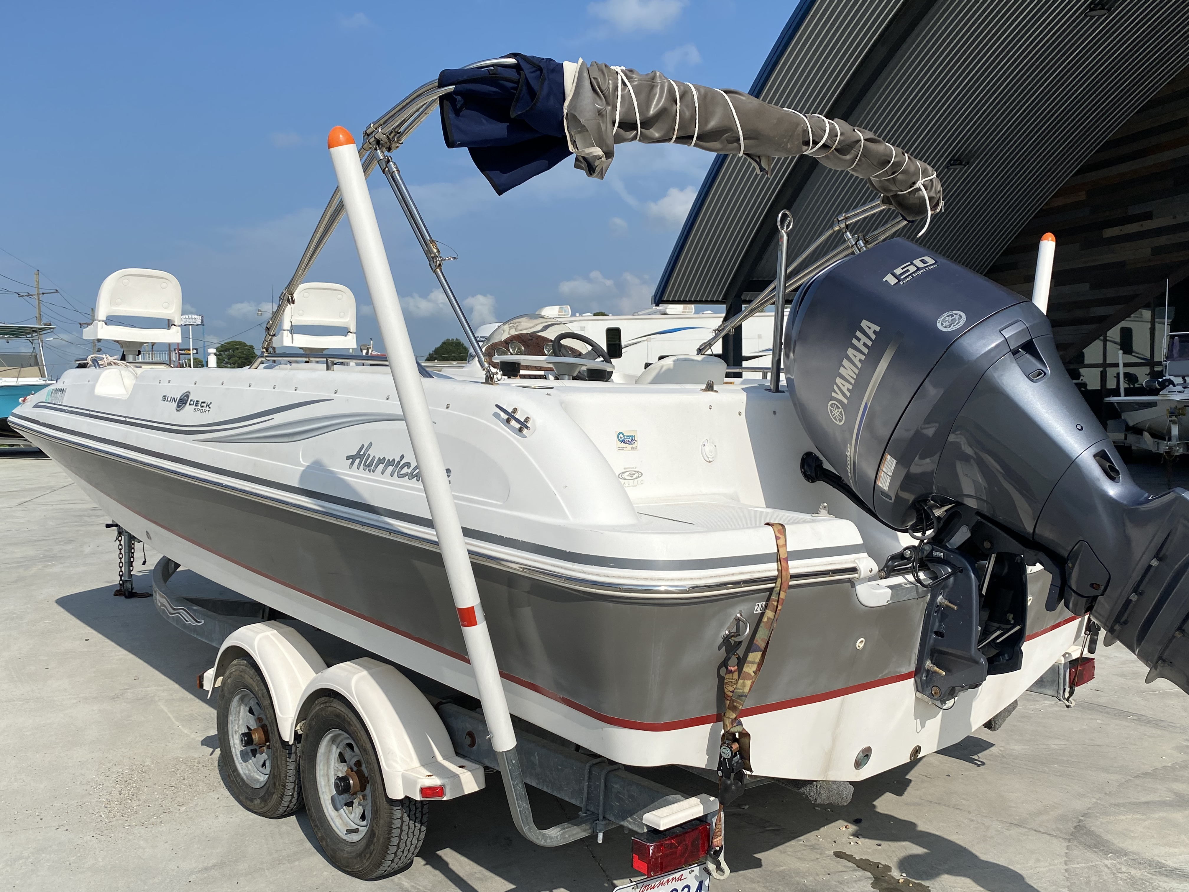 2012 Hurricane boat for sale, model of the boat is 201 Sport & Image # 4 of 11