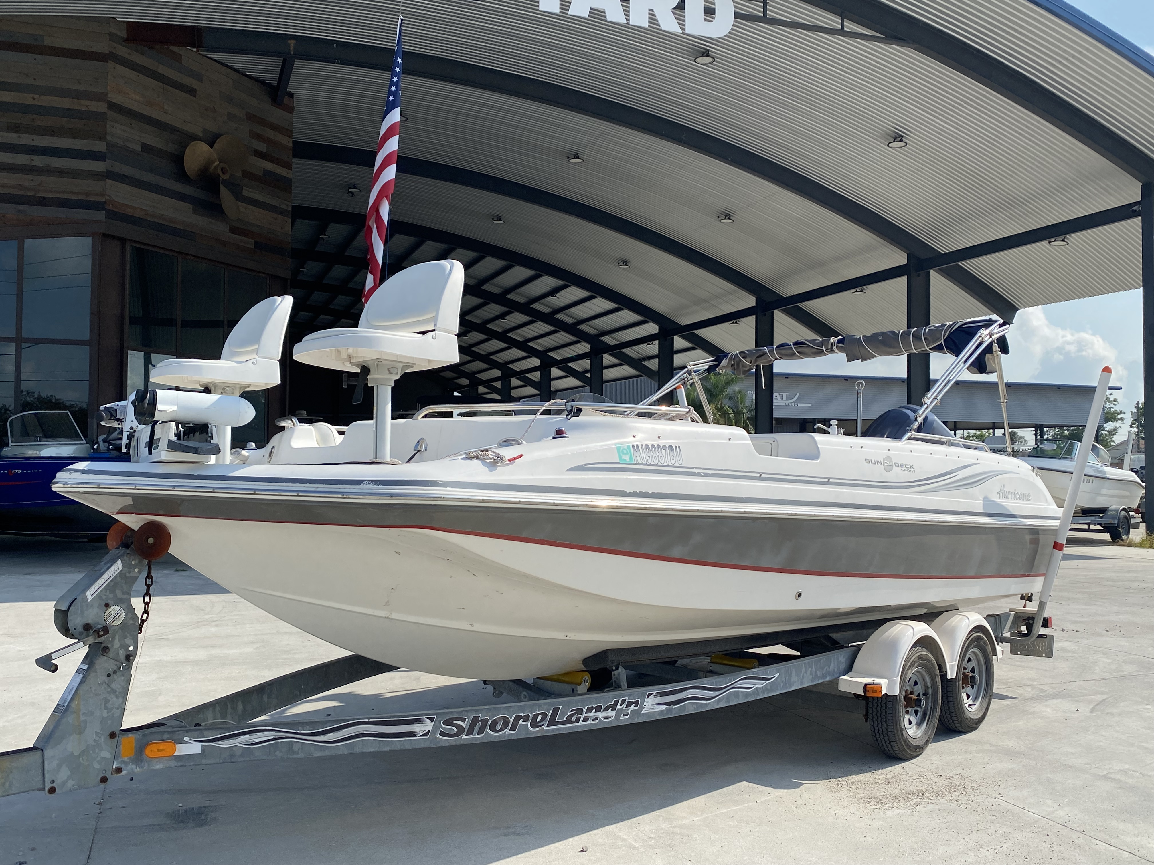 2012 Hurricane boat for sale, model of the boat is 201 Sport & Image # 9 of 11