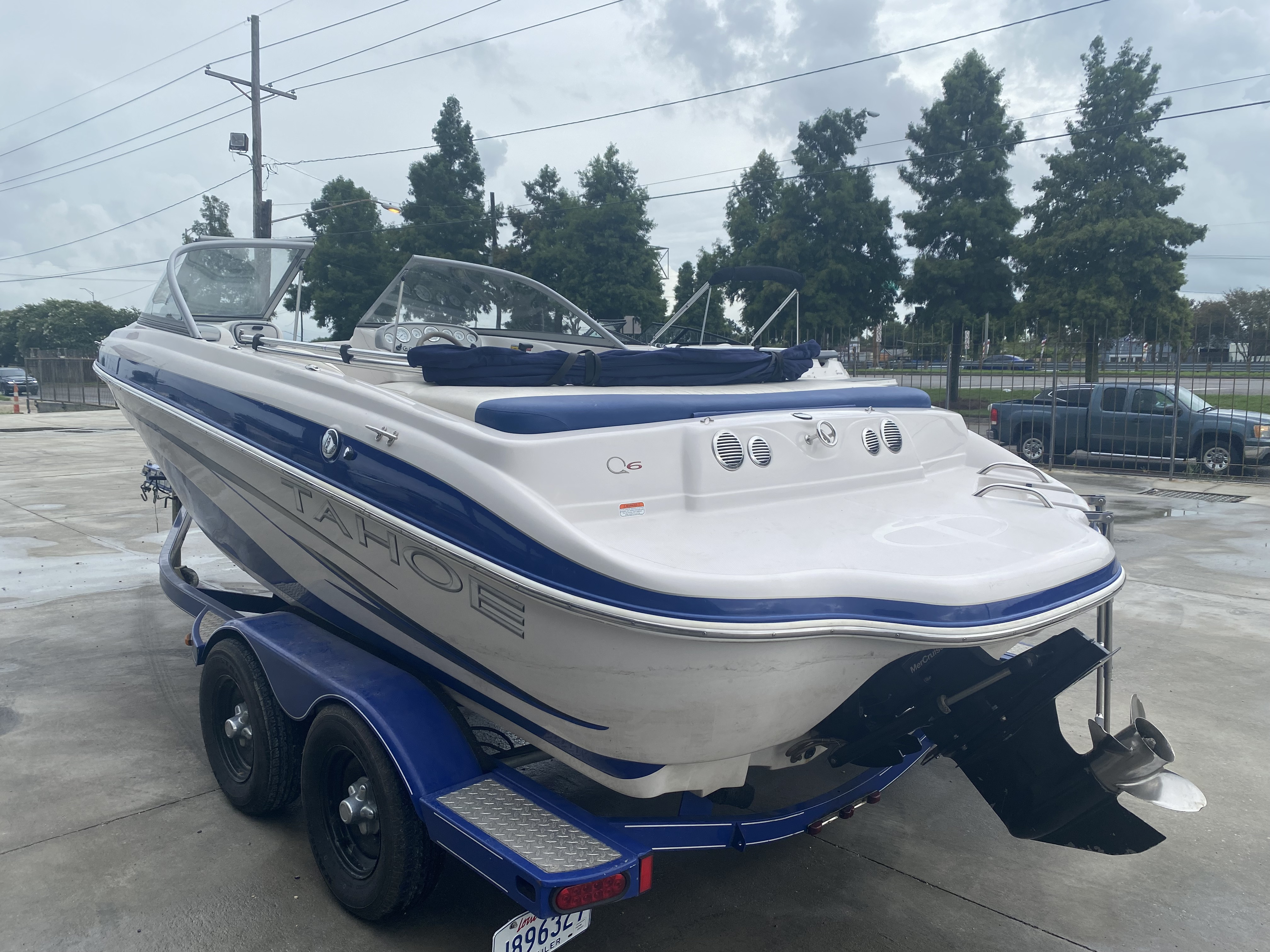 2008 Tahoe boat for sale, model of the boat is Q6 & Image # 7 of 10