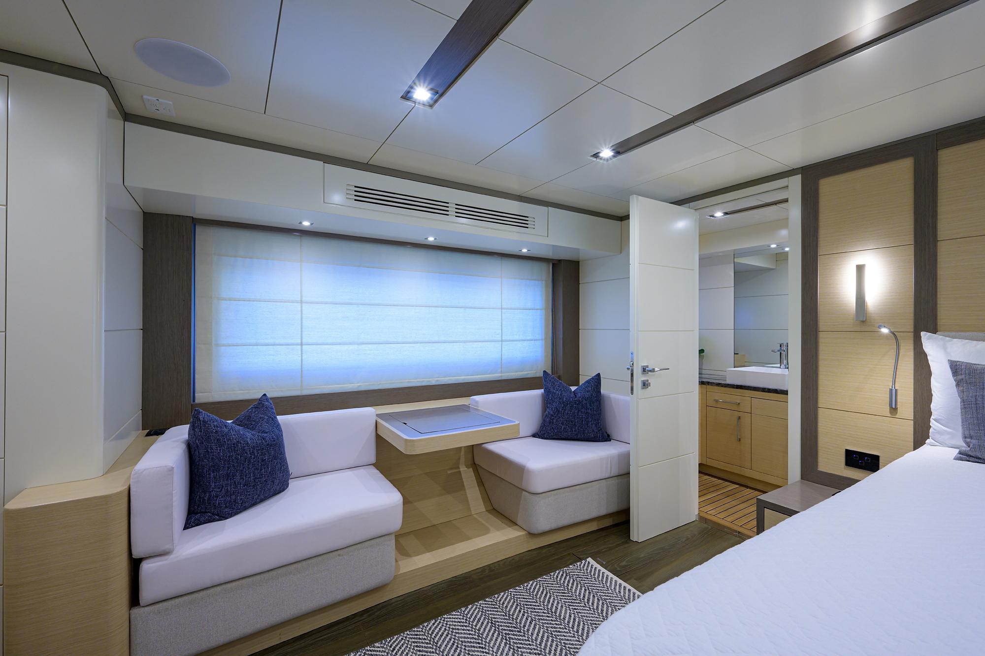 master cabin seating