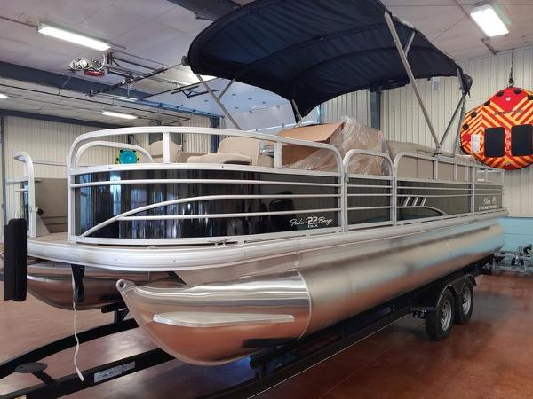 2021 Sun Tracker boat for sale, model of the boat is Fishin' Barge 22 & Image # 11 of 14