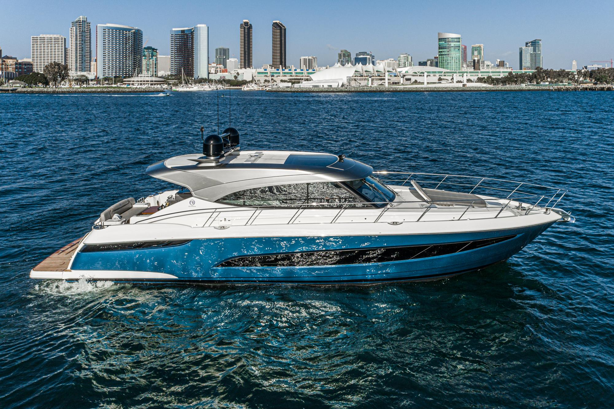 2021 Riviera 5400 Sport Yacht #R101 inventory image at Sun Country Coastal in Newport Beach