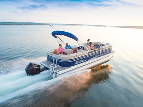 2021 SUN TRACKER Party Barge 22 RF XP3 thumbnail