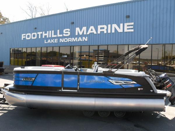 2021 Godfrey Pontoon boat for sale, model of the boat is AquaPatio 235 SBC iMPACT 29 in. Center Tube & Image # 1 of 46
