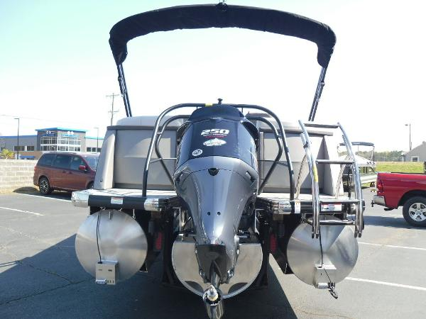 2021 Godfrey Pontoon boat for sale, model of the boat is AquaPatio 235 SBC iMPACT 29 in. Center Tube & Image # 7 of 46
