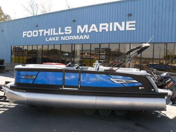 2021 Godfrey Pontoon boat for sale, model of the boat is AquaPatio 235 SBC iMPACT 29 in. Center Tube & Image # 8 of 46