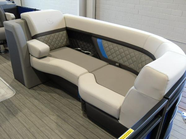 2021 Godfrey Pontoon boat for sale, model of the boat is AquaPatio 235 SBC iMPACT 29 in. Center Tube & Image # 9 of 46