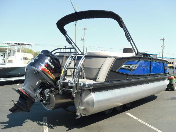 2021 Godfrey Pontoon boat for sale, model of the boat is AquaPatio 235 SBC iMPACT 29 in. Center Tube & Image # 15 of 46