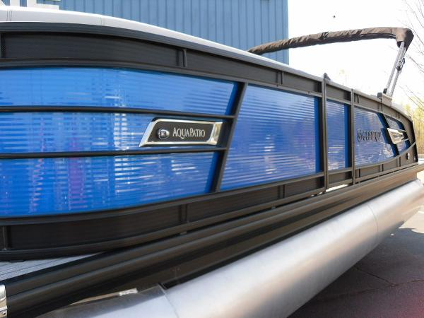 2021 Godfrey Pontoon boat for sale, model of the boat is AquaPatio 235 SBC iMPACT 29 in. Center Tube & Image # 16 of 46