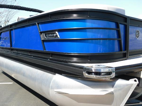 2021 Godfrey Pontoon boat for sale, model of the boat is AquaPatio 235 SBC iMPACT 29 in. Center Tube & Image # 23 of 46