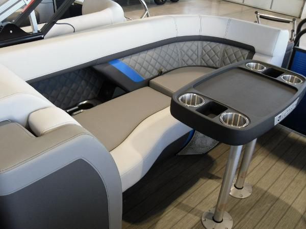 2021 Godfrey Pontoon boat for sale, model of the boat is AquaPatio 235 SBC iMPACT 29 in. Center Tube & Image # 30 of 46