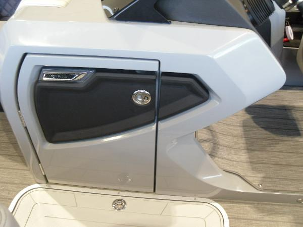 2021 Godfrey Pontoon boat for sale, model of the boat is AquaPatio 235 SBC iMPACT 29 in. Center Tube & Image # 31 of 46