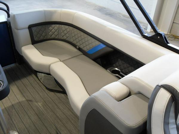 2021 Godfrey Pontoon boat for sale, model of the boat is AquaPatio 235 SBC iMPACT 29 in. Center Tube & Image # 42 of 46