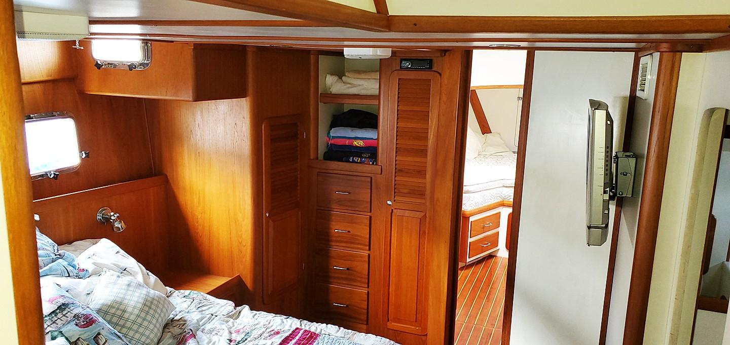 Owners Stateroom from Stairs