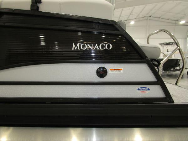 2021 Godfrey Pontoon boat for sale, model of the boat is Monaco 235 C iMPACT 29 in. Center Tube & Image # 2 of 46