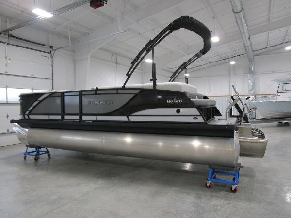 2021 Godfrey Pontoon boat for sale, model of the boat is Monaco 235 C iMPACT 29 in. Center Tube & Image # 5 of 46