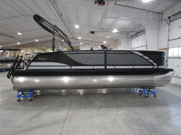 2021 Godfrey Pontoon boat for sale, model of the boat is Monaco 235 C iMPACT 29 in. Center Tube & Image # 18 of 46