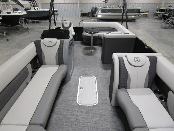 2021 Godfrey Pontoon boat for sale, model of the boat is Monaco 235 C iMPACT 29 in. Center Tube & Image # 25 of 46